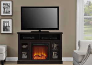 Featured Image of Ameriwood Chicago Electric Fireplace TV Stand