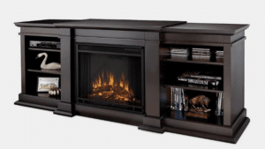 RealFlame Fresno electric fireplace entertainment center featured image