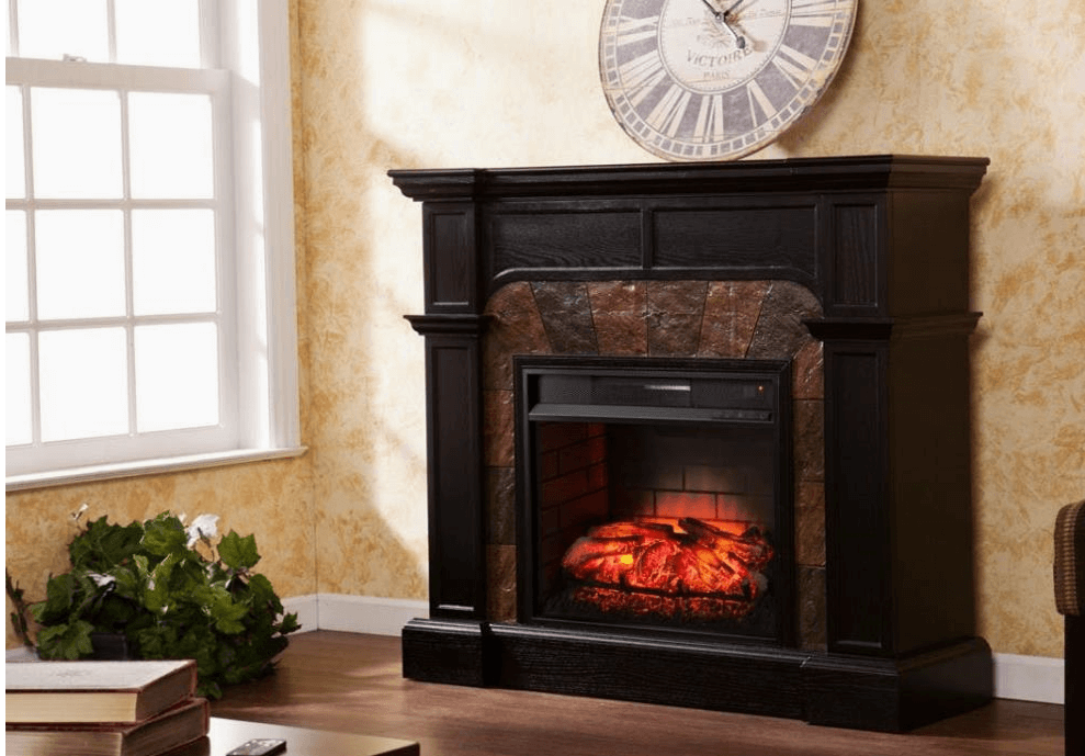 SEI Cartwright Convertible Electric fireplace featured image