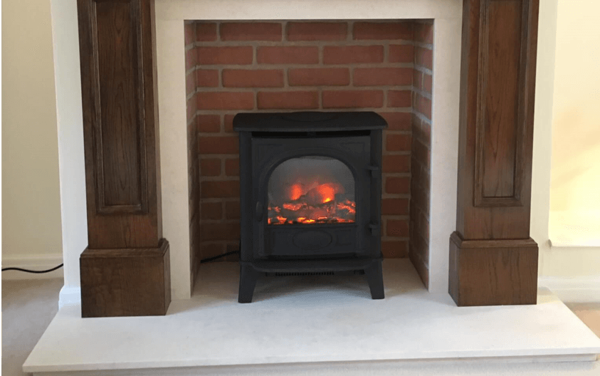 Electric fireplace Stove_Example