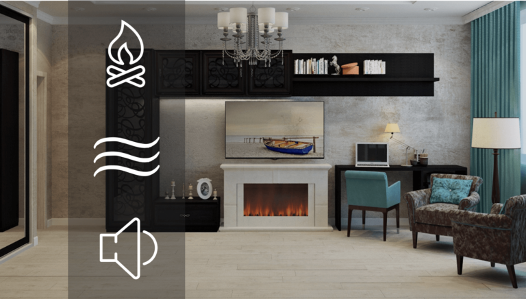 Featured Image of Technologies in electric fireplace article
