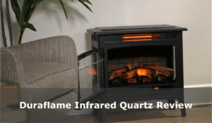 Duraflame Infrared Quartz Electric fireplace featured image