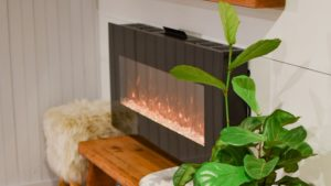 featured image of wall mount electric fireplace