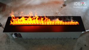 Water Vapor Electric fireplace example